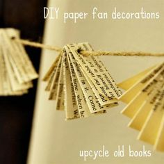 0 old book paper upcycled fan christmas decorations__MG_0197 (Large)For Darcie