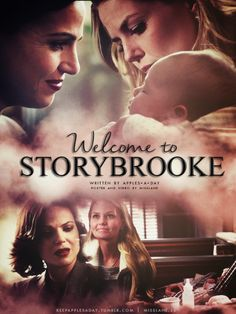 """Poster and video based on @keepapplesadayfanfic """"Welcome to Storybrooke""""Read the fanfic here FF 