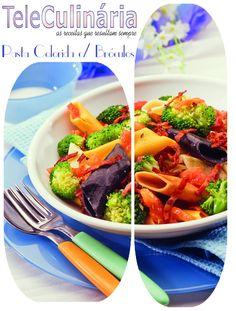 Pasta Colorida com Bróculos - Clique na imagem para ver a receita
