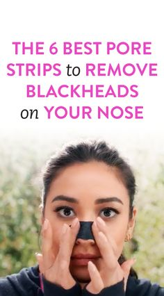 Blackheads With These 6 Amazing Pore Strips The 6 Best Pore Strips To Remove Blackheads On Your NoseThe 6 Best Pore Strips To Remove Blackheads On Your Nose Remove Blackheads From Nose, How To Get Rid Of Pimples, Get Rid Of Blackheads, Diy Pore Strips, Nose Pimples, Nose Pores, Cleanser For Oily Skin
