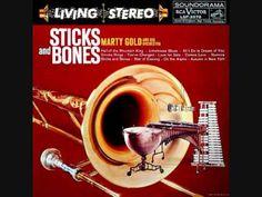 Marty Gold - Sticks and bones (1959)  Full vinyl LP