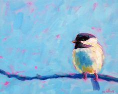 Chickadee by Betsy McLellan