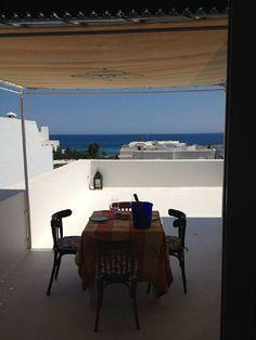Location vacances appartement Hammamet: Vue mer à l'ombre