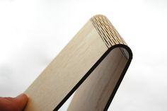 Snijlab, bendable wood.