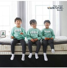 #Cr.LuxnineLatex #Daehan Minguk ManSe #LalitaMuangman #Song's Cute Triplets Song Il Gook, Superman Kids, Man Se, Song Triplets, Song Daehan, Asian Love, Cute Songs, Cutest Thing Ever, Boy Hairstyles