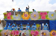 Mardi Gras celebrations in Lafourche Parish