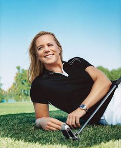 Annika Sörenstam born 9 October 1970 is a Swedish professional golfer whose achievements rank her as one of the most successful female golfers in history.