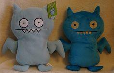 Uglydoll Amusement Plush Prototype - Ice Bat by jcwage, via Flickr