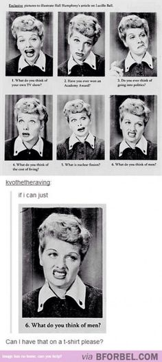 I do love Lucy!