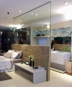 divisoria vidro quarto e closet - Pesquisa Google