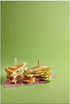 Club sandwich - Boodschappen