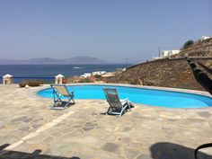 Mykonos Villas, Small Refrigerator, Dining Room, Kitchen Dining, Swimming Pools, Bathrooms, Houses, Apartments, Outdoor Decor