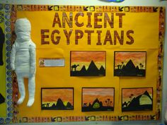 Ancient Egypt Display, Ancient Egypt For Kids, Ancient Egypt Fashion, Ancient Egyptian Jewelry, Ancient Egypt Activities, School Displays, Classroom Displays, Classroom Themes, Thinking Day