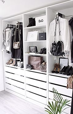 26 Ideas perfect wardrobe closet organization for 2019 Wardrobe Closet, Closet Bedroom, Home Bedroom, Wardrobe Small Bedroom, Ikea Walk In Wardrobe, Walk In Closet Ikea, Closet Wall, Open Wardrobe, Simple Wardrobe