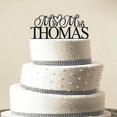 Пользовательские свадебный торт топпер-пользовательские куклы-оптом персонализированные вензеля торт топпер-бесплатная мистер и миссис
