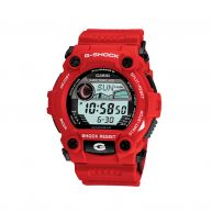 G-Shock G-Rescue Red    Get Shocked at Hamilton Jewelers    Introducing the latest in timepiece technology from G-Shock.  Available online at hamiltonjewelers.com    Back It Up. Get a 1GB USB flash drive with any G-Shock purchase, with our compliments.  For online purchases only.