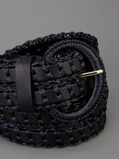 DOLCE & GABBANA - braided belt 6