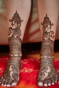 Amazing mehndi designs http://www.maharaniweddings.com/gallery/photo/125801