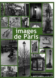 Carte Paris en noir et blanc pour envoyer par La Poste, sur Merci-Facteur !