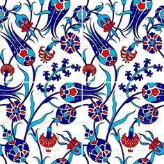 Floral Pillows, Colorful Pillows, Boho Pillows, Turkish Tiles, Turkish Art, Ceramic Tile Art, Traditional Pillows, Iranian Art, Decoupage Vintage