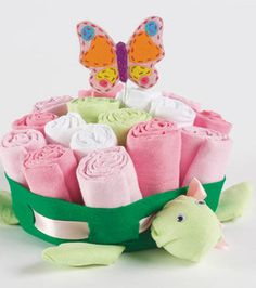Turtle Centerpiece cute baby shower gift