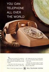 vintage touch tone phone ad - Bing Images