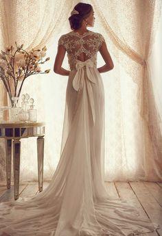 Vestidos de novia por Anna Campbell