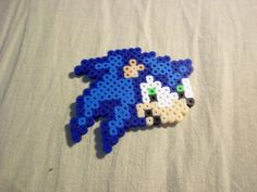 Sonic the Hedgehog Perler