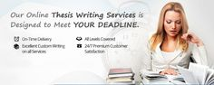 The decision of hiring professional writing services for getting a thesis done within a limited span of time is something that should be weighed carefully. This is because there are risks involved in making the choice of companies that provide #thesisproposalwriting service. Read more at:- http://capital-essay.blogspot.in/2016/01/quick-guide-on-selecting-excellent.html