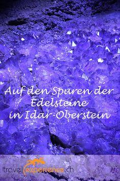 In Idar-Oberstein (Rheinland-Pfalz) dreht sich fast alles um Edelsteine. Eine spannende Erkundungstour, die Du auf unserer Homepage nachlesen kannst – und vielleicht sogar nachreisen? Movies, Movie Posters, Travel, Rhineland Palatinate, Blogging, Rhinestones, Fresh, Germany, Viajes