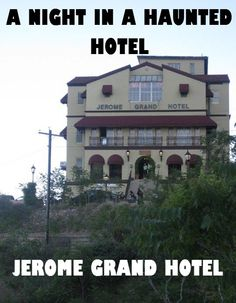 Would you ever spend the night in a haunted hotel? #Ghosts #Arizona