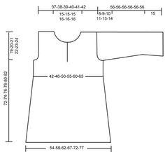 Tunique DROPS en jersey et point mousse en Lin. Du S au XXXL Modèle gratuit de DROPS Design.