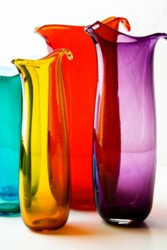 These would make beautiful vases Eden Glass Jugsb