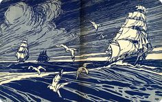 'Deep Water Days' Published by Macrae Smith Co ~ 1929