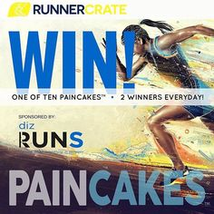 #Repost @pain.cakes ・・・ TIME TO WIN RunnerCrate (the premier runner box) + PAINCAKES™ (the world's first cold pack that sticks!) + DizRuns (running, life & everything in between podcast) kick-off a 5 day PAINCAKES giveawayYep! Win one of 10 super-sticky cold packs that adhere exactly where you need them!  Here's how to enter to WIN: 1. ➡️ Like this post. 2. ➡️ Make sure you are following @runnercrate @pain.cakes & @dizruns on Instagram (we double check!) and comment on the photo using…