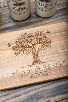 Personalized Cutting Board, Wedding Gift, Engagement Gift, Anniversary Gift…