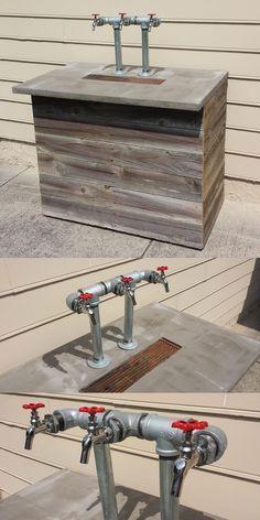 Kegerator Design & Build - Drew McDowell - Web, Interface, and Graphic Designer in Huntsville, Alabama
