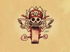 Sailor Jerry Biker Tattoo