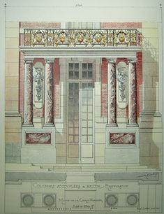 Versailles - Colonnes accouplées & balcon