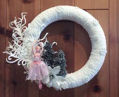 ONLY ONE! Sugar Plum Fairy Nutcracker Ballet Winter Wreath