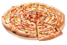 Цыпленок барбекю 30см за 249р. - доставка пиццы в Черкесске из ресторана Фарфор