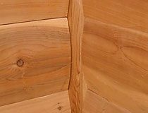 Northern White Cedar And White Pine Inside Corners