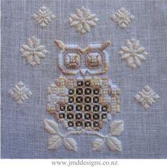 Hardanger Snowy Owl www.jmddesigns.co.nz