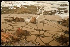 """Cracks"" - Sand Art by Andres Amador"