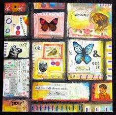 Marcia Beckett: Art Journaling and Mixed Media: Cabinet of Curious Things #2