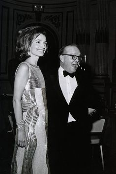 The ultimate arm candy. Lee Radziwill and Truman Capote at his Black-and-White Ball in honor of Kay Graham, 1966. (Photo by Hulton Archive/Getty Images)