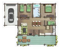Floor plan by TALENS3D on DeviantArt