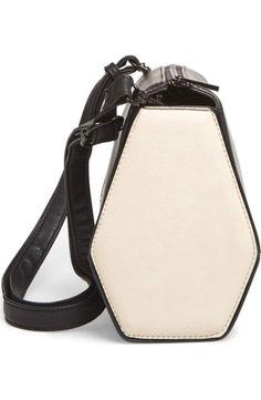 82c80102ecd1 Pixie Mood Faux Leather Crossbody Bag
