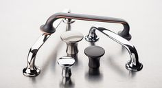 Top Knobs Mercer Collection of cabinet hardware.