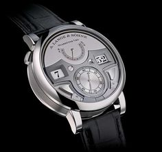 aa9c27ebebbb7 A. Lange   Söhne Zeitwerk Minute Repeater combines a jumping numerals time  display with a